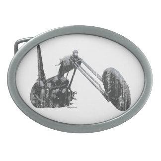 Iconic Old School Vintage Custom Chopper Belt Buckle