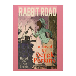 Iconic poster of Teet as a teenager in Rabbit Road Wood Wall Art