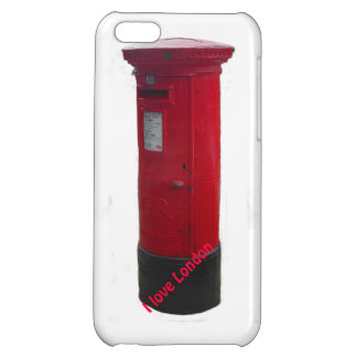 Iconic Red Letter Box iPhone Case - I Love London iPhone 5C Covers