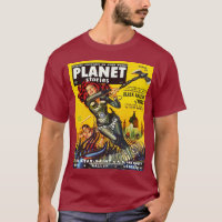 ICONIC RETRO SCI FI ILLUSTRATION T-Shirt