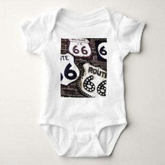 Iconic Route 66 Baby Bodysuit