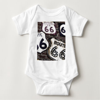 Iconic Route 66 Infant Creeper