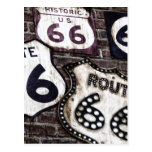 Iconic Route 66 Postcards