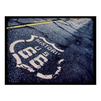 Iconic Route 66 Print