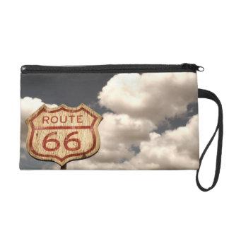 Iconic Route 66 Wristlet Purse
