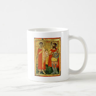 Iconic Saint Christopher with Soldier Coffee Mug