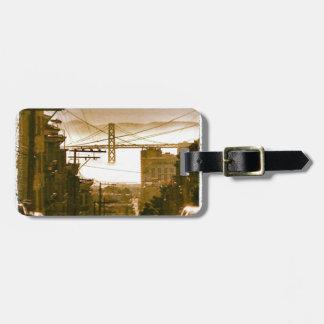 Iconic San Francisco Bay - Luggage Tag