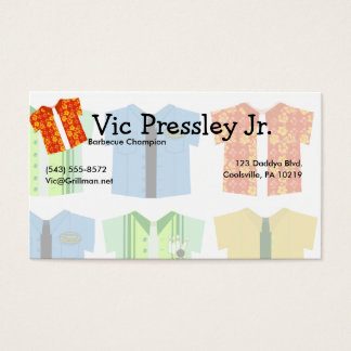 Iconic Shirts Business Card