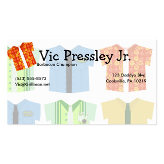 Iconic Shirts Double-Sided Standard Business Cards (Pack Of 100)