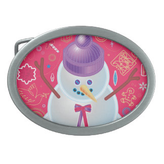 Iconic Snowman Belt Buckle