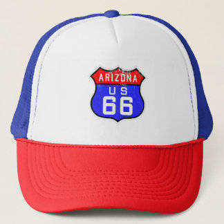 Iconic Vintage Route 66 Arizona Trucker Hat