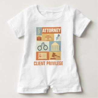 Icónico profesional del abogado diseñado camisas