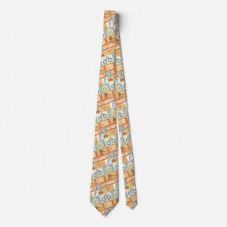 Icónico profesional del abogado diseñado corbatas