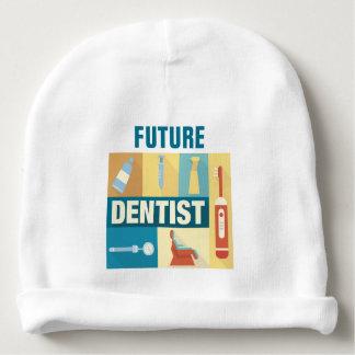 Icónico profesional del dentista diseñado gorrito para bebe