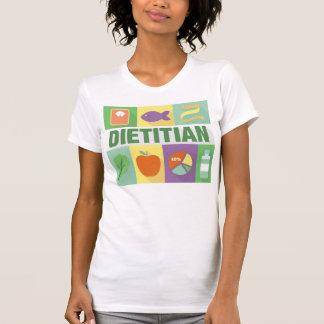 Icónico profesional el dietético diseñado camisetas