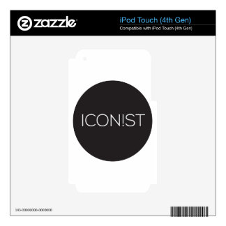 ICONIST Dot Logo Decal For iPod Touch 4G