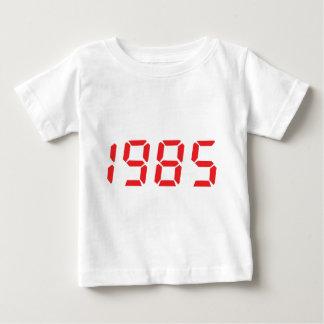icono 1985 del rojo playera de bebé