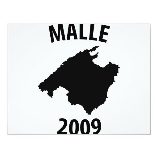 icono 2009 del malle invitación