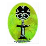 Icono africano: Akuaba (Ghana) Postales