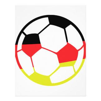 icono alemán del fútbol flyer personalizado