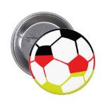 icono alemán del fútbol pins
