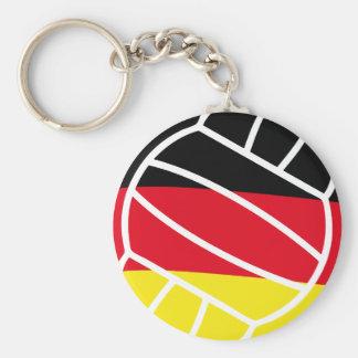 icono alemán del voleibol llavero