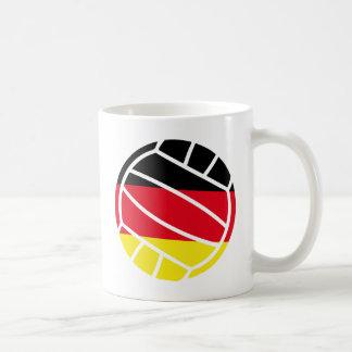 icono alemán del voleibol taza
