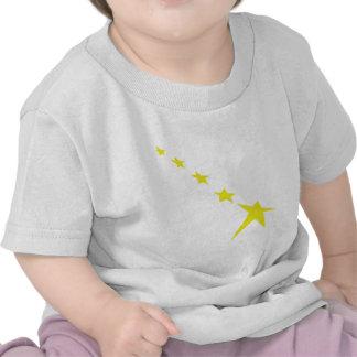 icono amarillo de 5 estrellas camisetas