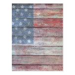 Icono americano tarjeta postal