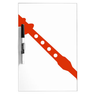 Icono anaranjado del instrumento musical de la tableros blancos