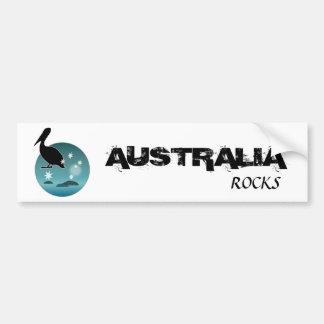 Icono australiano del pelícano pegatina para auto