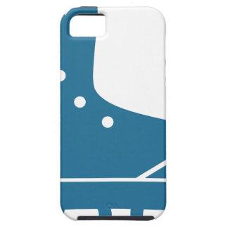 Icono azul del Rollerblade Funda Para iPhone 5 Tough