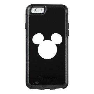 Icono blanco del logotipo el | Mickey de Disney Funda Otterbox Para iPhone 6/6s