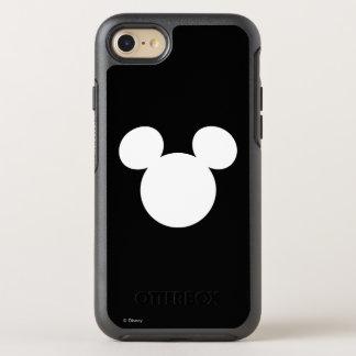 Icono blanco del logotipo el | Mickey de Disney Funda OtterBox Symmetry Para iPhone 7