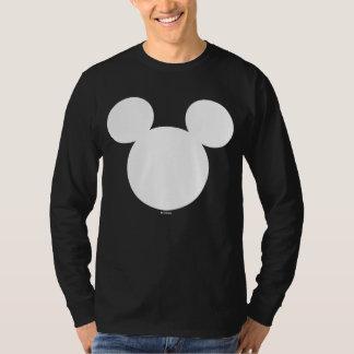Icono blanco del logotipo el | Mickey de Disney Playera