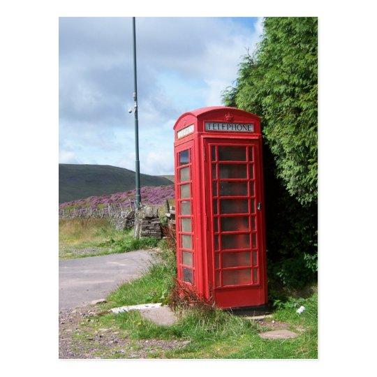 Icono británico tarjetas postales