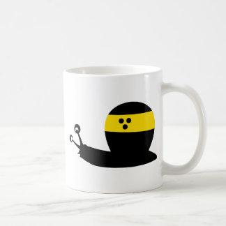 icono ciego del caracol taza de café