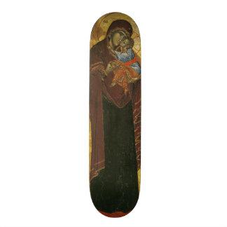 """Icono conocido como la """"Virgen del Tsar Dushan"""", c Patines Personalizados"""