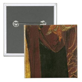 """Icono conocido como la """"Virgen del Tsar Dushan"""", c Pin Cuadrada 5 Cm"""