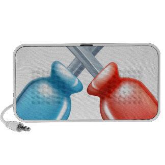Icono cruzado destornilladores de las herramientas iPhone altavoces