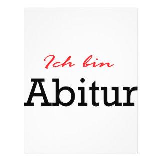 Icono de Abitur del bin de Ich Tarjetón