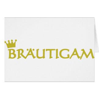 Icono de Bräutigam Tarjetón