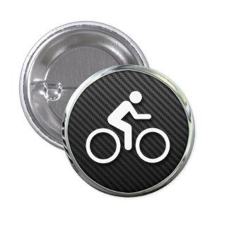 Icono de ciclo chapa redonda 2,5 cm