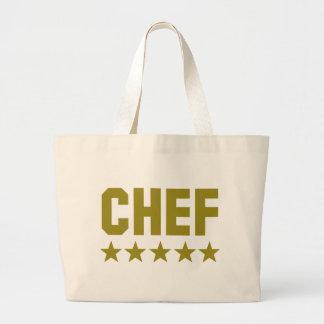 icono de cinco estrellas del cocinero bolsa