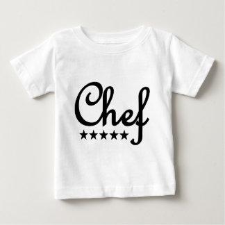 icono de cinco estrellas del cocinero playeras