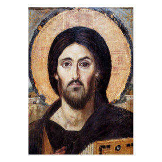 Icono de Cristo/de la iglesia ortodoxa Plantillas De Tarjetas Personales