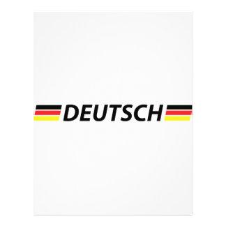 icono de deutsch tarjeta publicitaria