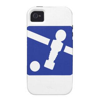 Icono de Foosball Case-Mate iPhone 4 Carcasas