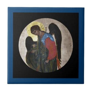 Icono de Gabriel del ángel Azulejo Cuadrado Pequeño
