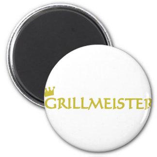 Icono de Grillmeister Imán Redondo 5 Cm